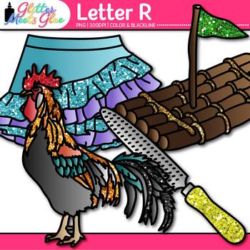 Letter R Alphabet Clip Art {Teach Phonics, Recognition, and Identification}