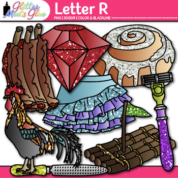 Letter R Alphabet Clip Art | Teach Phonics, Recognition, and Identification