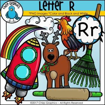 Letter R Alphabet Clip Art Set - Chirp Graphics