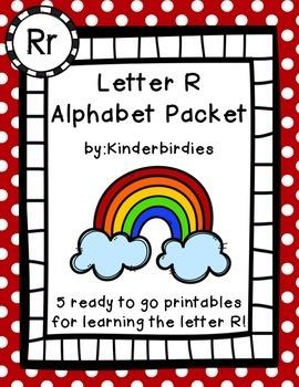 Letter R Alphabet Packet