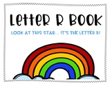 Letter R Book: Handwriting Practice