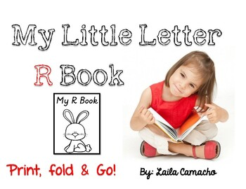Letter R Book