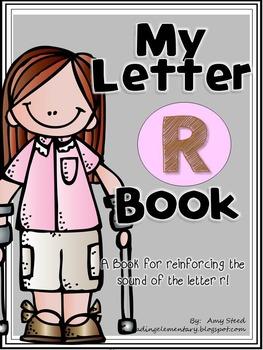Letter R Book of Beginning Sounds-Emergent Reader w/Runnin