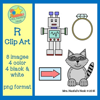 Letter R Alphabet Clip Art