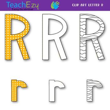 Letter R Clip Art Pack