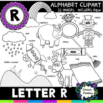 Letter R Clipart - 22 images! Personal or Commercial use
