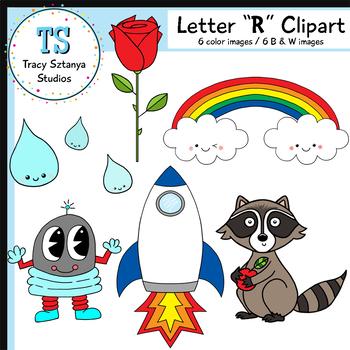 "Letter ""R"" Clipart Set {Tracy Sztanya Studios}"