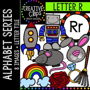 Letter R {Creative Clips Digital Clipart}