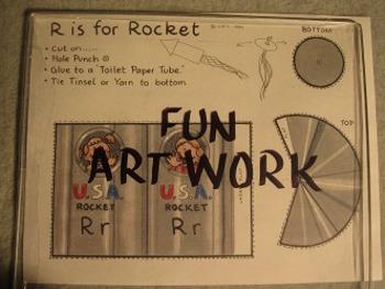 Letter R Fun Alphabet Project