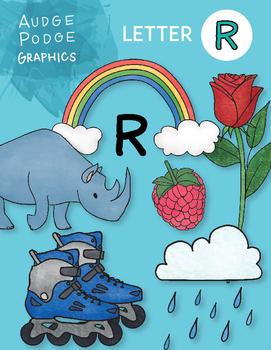 Letter R Graphics