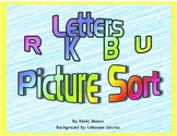 Letter R K B U Picture Sort Saxon Phonics