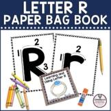 Letter R Paper Bag Book