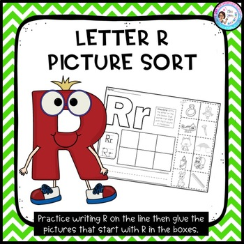 Letter R Picture Sort - Initial Sound