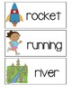 Letter R - Picture Word Cards