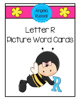 Letter R ~ Picture Word Cards