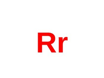 Letter R PowerPoint