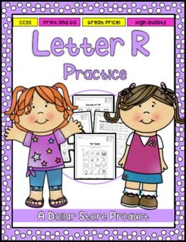 Letter R Practice Printables