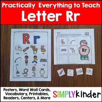 Letter R | Alphabet Printables and Centers