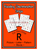 Letter R Reading Discrimination Strips for Fluency and Alp