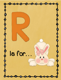 Letter R Story and Writing Practice
