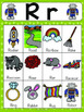 Letter R Vocabulary Cards