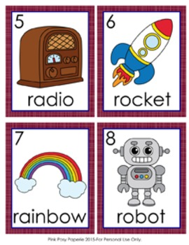 Letter R Words Write the Room Activity