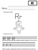Letter R Worksheets
