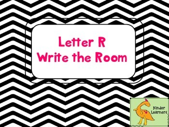 Write the Room Letter R