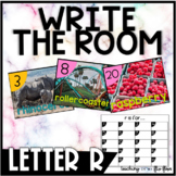 Letter R Write the Room- Literacy Station