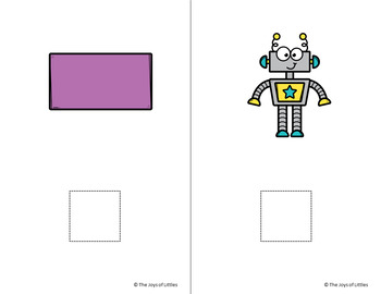Letter R adapted book errorless learning