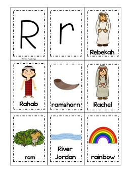 Letter R is for rainbow. Bible Letter of the Week.
