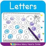 Dot a Letter: Letter Recognition