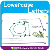 Dot to Dot Lowercase Letters   MMHS25
