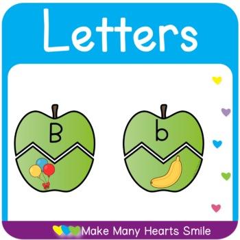 Letter Recognition Puzzles