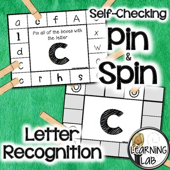 Letter Recognition - Self-Checking Reading Centers