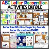 Letter Recognition ABC Activities The Bundle