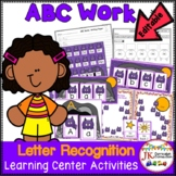 Letter Recognition! Bat Theme Literacy Center Activities