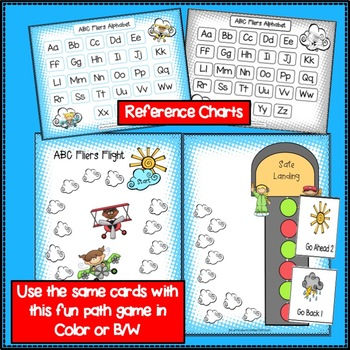 Letter Recognition Literacy Center Activities - ABC Fliers