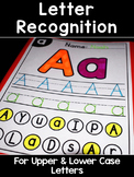 Letter Recognition Worksheets Upper & Lower Case Differentiated/Scaffolded