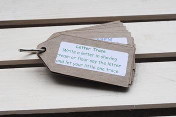 Letter Recognition Activites