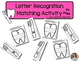 Letter Recognition Activities | Lowercase - Uppercase | Ma
