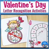 Letter Recognition Activities for Valentine's Day