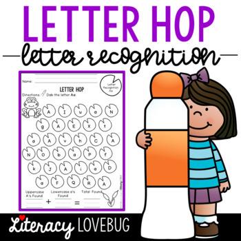 Letter Recognition Activity: Letter Hop