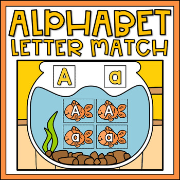 Letter Recognition Activity Alphabet Matching Center