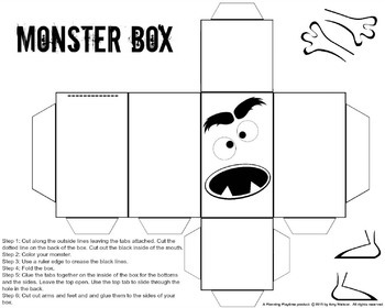 Letter Recognition Activity - Feed the Alphabet Monster