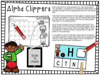 Letter Recognition - Alpha Clippers