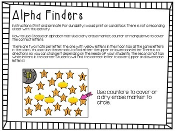 Letter Recognition - Alpha Finders