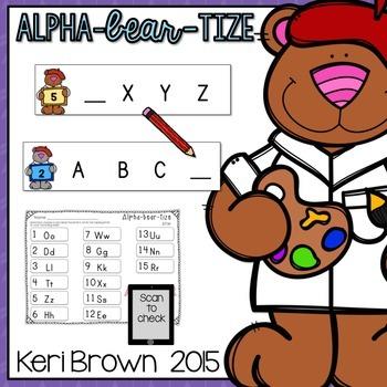 Letter Recognition - Alpha-bear-tize