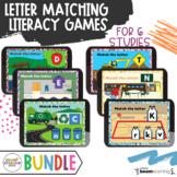 Creative Curriculum 6 Study Bundle Literacy Distance Learning Alphabet Match