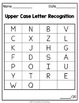 Letter Recognition Assessment